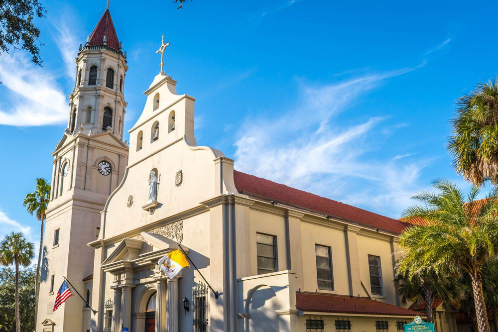 The History Of The Cathedral Basilica of St. Augustine - Florida's Oldest Catholic Church